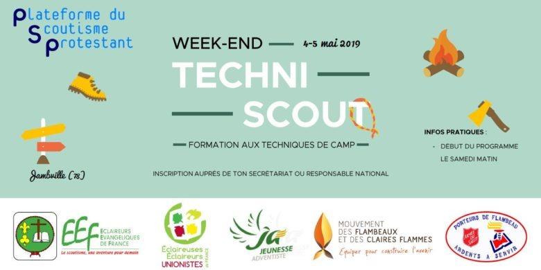 WE Techni'scout des 4-5 mai 2019